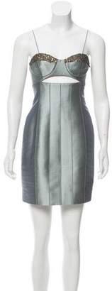 Jason Wu Embellished Satin Dress