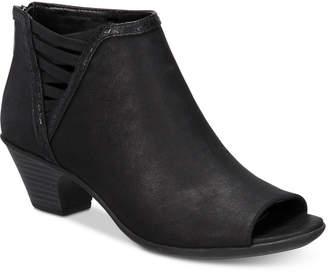 Easy Street Shoes Paris Peep-Toe Booties Women's Shoes
