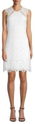 Laundry by Shelli Segal Open Back Venise Lace Dress