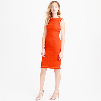 Petite sheath dress in textured tweed $158 thestylecure.com