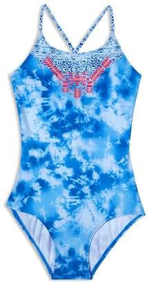 Gossip Girl Girls' Jean's Addiction Swimsuit - Big Kid