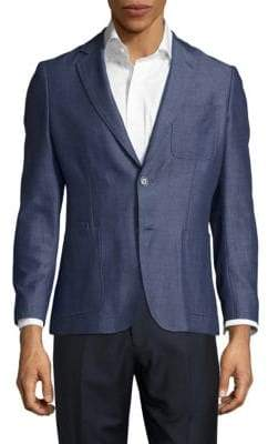 Michael Kors Solid Cotton Jacket