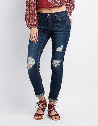 Refuge Boyfriend Destroyed Jeans $34.99 thestylecure.com