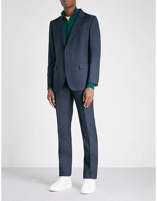 Gieves & Hawkes Birdseye regular-fit virgin-wool suit