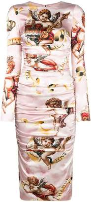 Dolce & Gabbana angels print dress