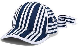 adidas + Ji Won Choi Striped Cotton-twill Baseball Cap - Navy