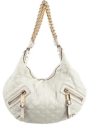 Marc Jacobs Marc Jacobs Quilted Leather Banana Hobo