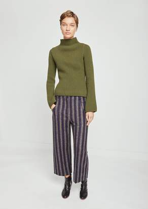 Nehera Priev Striped Terry Wool Pants