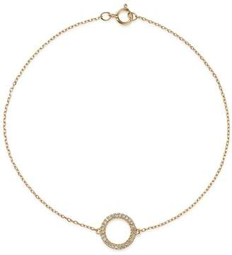 Bloomingdale's Diamond Circle Bracelet in 14K Yellow Gold, 0.08 ct. t.w. - 100% Exclusive