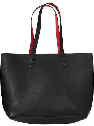 Reversible Faux-Leather Tote for Women $34.94 thestylecure.com