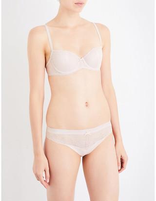 5e8242ba451c Chantelle Le Marais stretch-lace half-cup bra