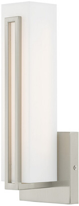 Livex Lighting Livex Fulton 10W Led Brushed Nickel Ada Wall Sconce