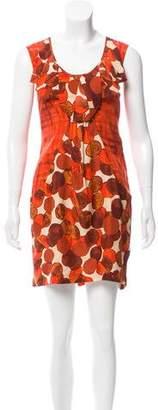 Tracy Reese Printed Silk Dress