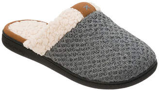 Dearfoams Knit Scuff Slip-On Slippers