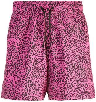 Amiri Leopard shorts
