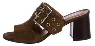 Derek Lam Suede Slide Sandals