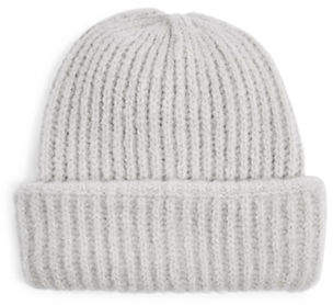 Topshop Ribbed Beanie