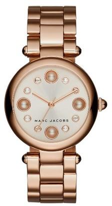 Women's Marc Jacobs Dotty Bracelet Watch, 34Mm $250 thestylecure.com