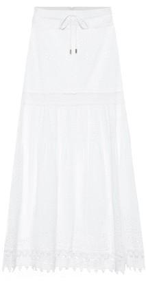 Melissa Odabash Alessia cotton maxi skirt