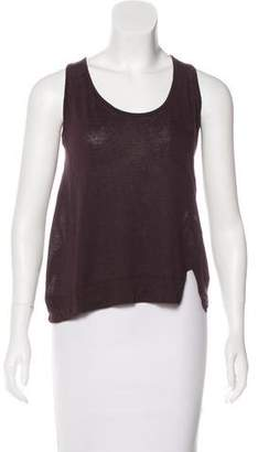 A.L.C. Sleeveless Scoop Neck Top