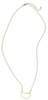 Women's Bp. Half Circle Pendant Necklace $19 thestylecure.com