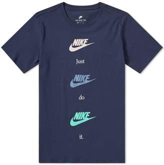 Nike Repeat Logo Tee