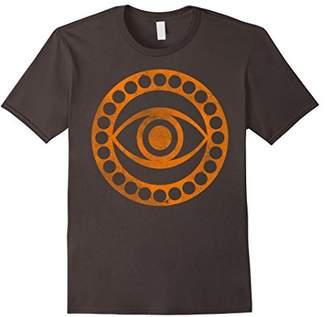 Marvel Doctor Strange Logo Orange Tonal Cut-Out T-Shirt