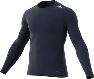 adidas 2015 Techfit Base Mens Long Sleeve Training Shirt M
