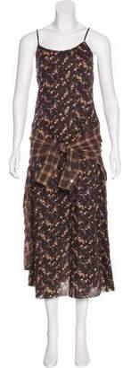 R 13 Printed Maxi Dress w/ Tags