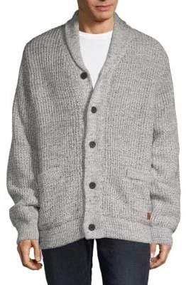 Buffalo David Bitton Textured Button-Down Sweater