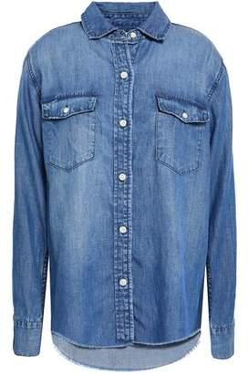 Frame Frayed Chambray Shirt