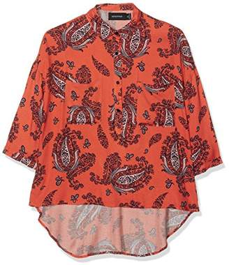MinkPink Women's Spice of Life Oversized Shirt,(Manufacturer Size:Small)