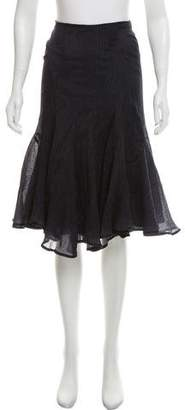 Zac Posen Z Spoke by Flared Knee-Length Skirt