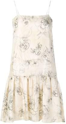 Cavallini Erika floral-print dress