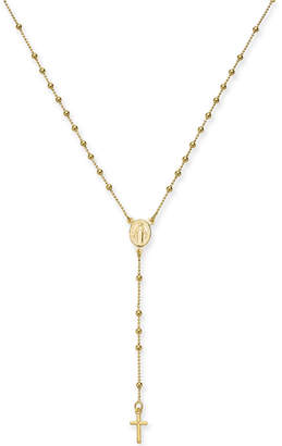 "Giani Bernini Beaded Rosary 18"" Y-Necklace, Created for Macy's"