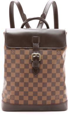 What Goes Around Comes Around Louis Vuitton Damier Soho Backpack (Previously Owned) $1,795 thestylecure.com