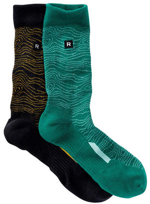 Richer Poorer Assorted Crew Socks - Pack of 2 $28 thestylecure.com