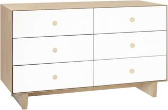 Oeuf Change Tables & Chests Merlin 6 Drawer Dresser with Rhea Base, Birch