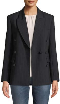 Joie Markina B Pinstripe Blazer Jacket