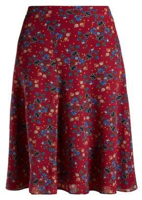 Altuzarra Caroline Floral Print Skirt - Womens - Pink Print