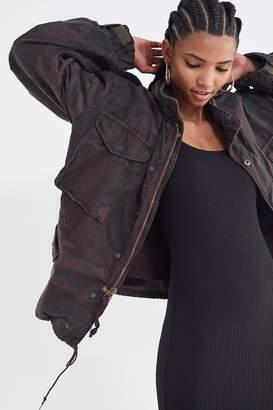Urban Renewal Vintage Overdyed M-65 Camo Jacket