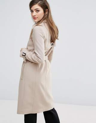 Oasis Belted Trench $128 thestylecure.com
