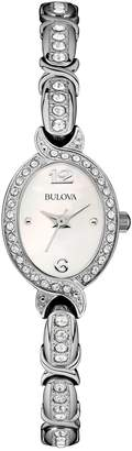 Bulova Women's Crystal Accented Watch, 22mm