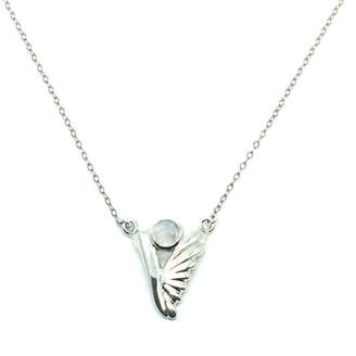 Bohemia My Jewelry Guardian Angel Necklace-Sterling Silver