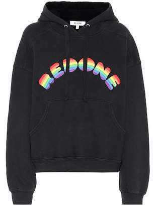 RE/DONE Cotton logo hoodie