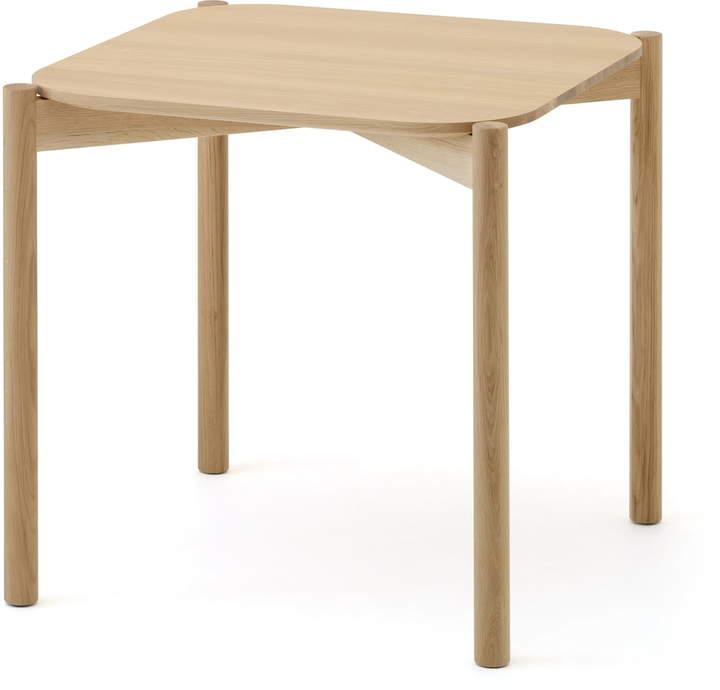 Karimoku New Standard - Castor Table Eiche, 75 cm