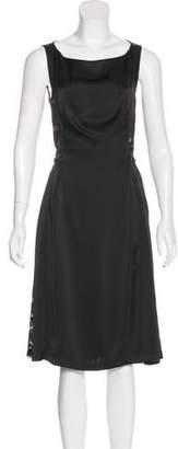 Rachel Comey Lace-Paneled Midi Dress
