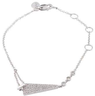 Meira T 14K Diamond Triangle Bracelet