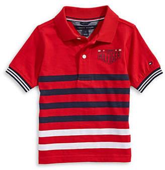 Tommy Hilfiger Striped Jersey Cotton Polo
