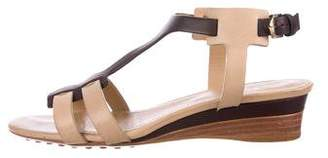 Tod's Leather Open-Toe Sandals